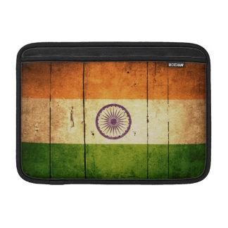 Wooden Indian Flag MacBook Sleeve