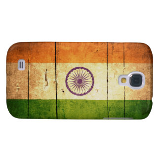 Wooden Indian Flag Samsung S4 Case