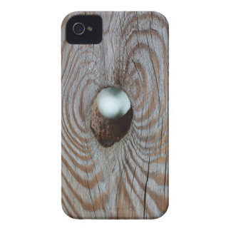 """""""Wooden"""" iPhone 4 Cover"""