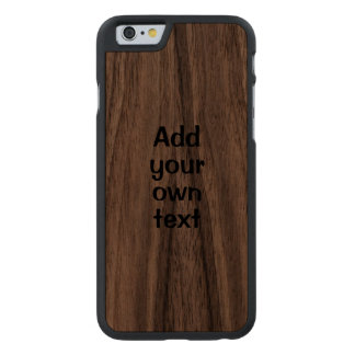 Wooden iphone Case Add Your Own Text Template