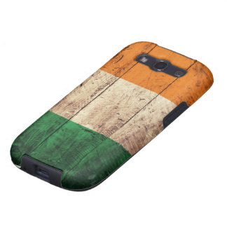 Wooden Ireland Flag Galaxy S3 Cover