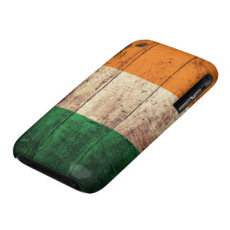 Wooden Ireland Flag Case-Mate iPhone 3 Case