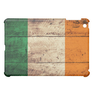 Wooden Ireland Flag Case For The iPad Mini