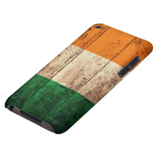 Wooden Ireland Flag iPod Touch Case-Mate Case
