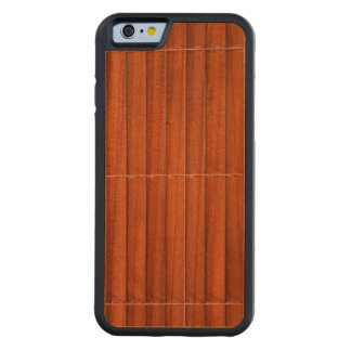 Wooden jalousie carved cherry iPhone 6 bumper case