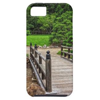 Wooden Japanese Bridge iPhone 5 Covers