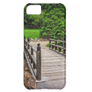 Wooden Japanese Bridge Cover For iPhone 5C
