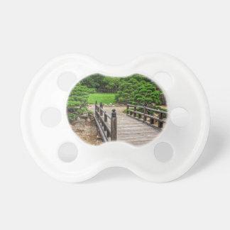 Wooden Japanese Bridge Pacifier