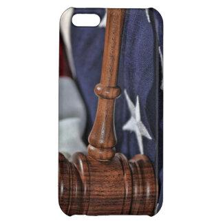 Wooden Judge's Gavel iPhone 5C Cases
