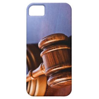 Wooden Judge's Gavel iPhone SE/5/5s Case