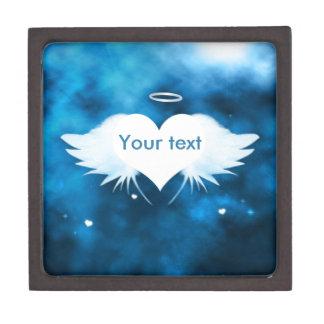 Wooden Keepsake Box -  Angel of the Heart
