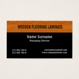 Laminated business cards templates zazzle wooden laminate wood flooring personalize business card colourmoves Gallery