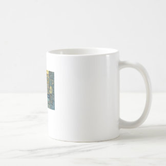 Wooden Letterforms Coffee Mug