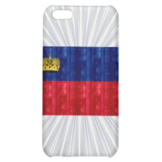 Wooden Liechtensteiner Flag Cover For iPhone 5C