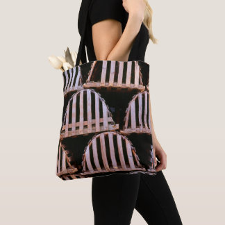 Wooden Lobster Traps Horizontal Tote Bag