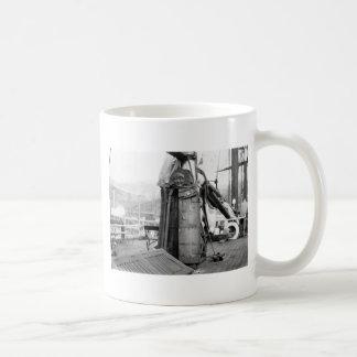 Wooden Maiden, Torture Device, 1910s Coffee Mug