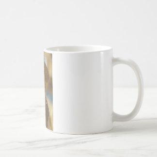 Wooden man coffee mug