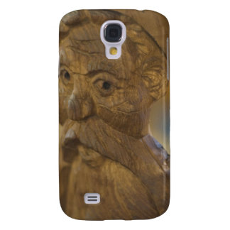 Wooden man galaxy s4 cover