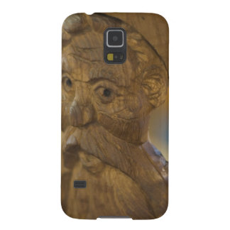 Wooden man galaxy s5 cover