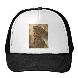 Wooden man trucker hat