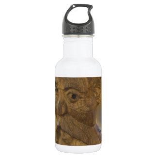 Wooden man water bottle