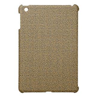 wooden maze iPad mini cover