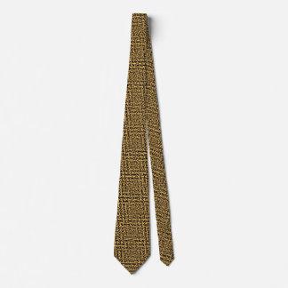 wooden maze tie
