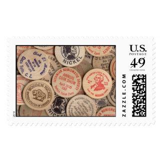 Wooden Nickels Stamp