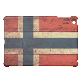 Wooden Norway Flag Cover For The iPad Mini