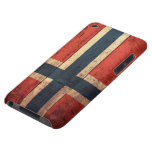 Wooden Norway Flag iPod Touch Case