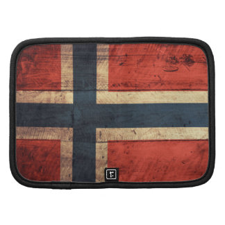 Wooden Norway Flag Planners