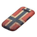 Wooden Norway Flag Samsung Galaxy SIII Case