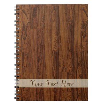 Beach Themed Wooden Notebook