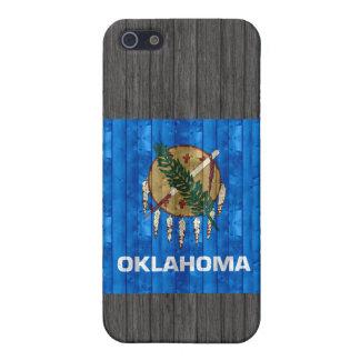 Wooden Oklahoman Flag iPhone 5 Case