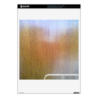 wooden outdoor decals for PS3 slim