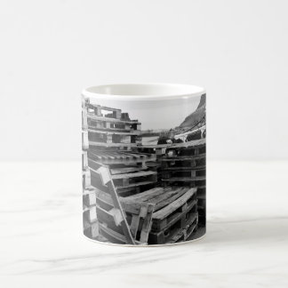 Wooden Pallets by the Sea Mug
