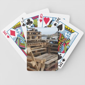 Wooden Pallets Playing Cards