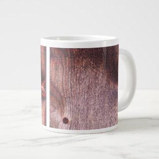 Wooden Panel Large Coffee Mug