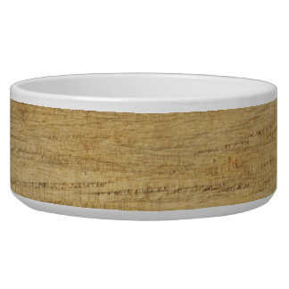 Wooden Panel Texture Bowl