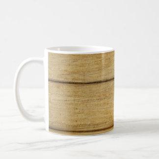 Wooden Panel Texture Coffee Mug