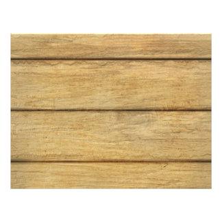 Wooden Panel Texture Flyer