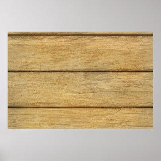 Wooden Panel Texture Print
