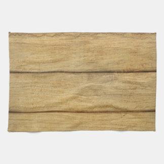 Wooden Panel Texture Towel