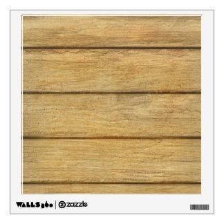 Wooden Panel Texture Wall Sticker