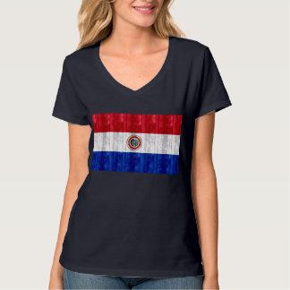 Wooden Paraguayan Flag T-Shirt
