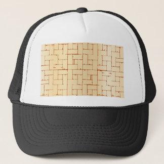 Wooden Parquet Flooring Trucker Hat