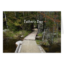 Wooden Path Tree Scene -Father's Day
