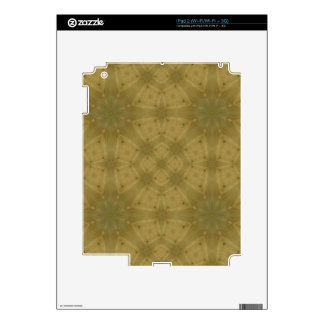 Wooden Pattern Decal For The iPad 2