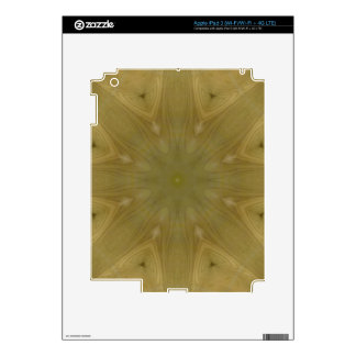 Wooden Pattern Decals For iPad 3