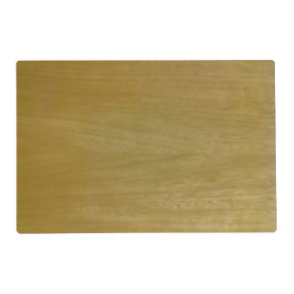 Wooden PAttern.jpg Laminated Place Mat